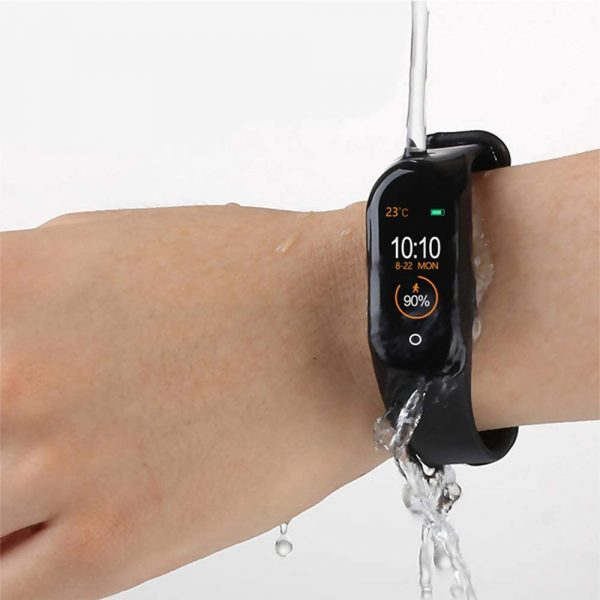 Waterproof Bluetooth 4.0 Heart Rate and Blood Pressure Fitness Tracker Smartwatch_10