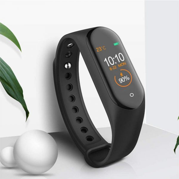 Waterproof Bluetooth 4.0 Heart Rate and Blood Pressure Fitness Tracker Smartwatch_11