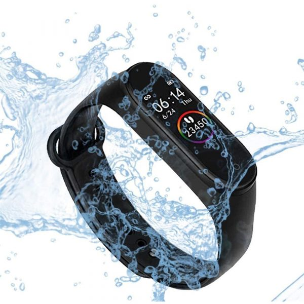 Waterproof Bluetooth 4.0 Heart Rate and Blood Pressure Fitness Tracker Smartwatch_8