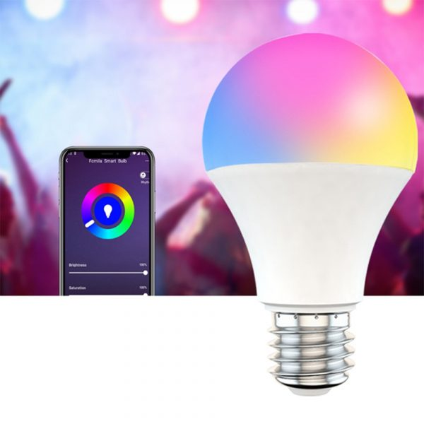 15W Wi-Fi Smart Bulb E27 LED RGB Bulb Works with Alexa / Google Home 85-265V RGB + White -Dimmable Timer Function Magic Bulb_1