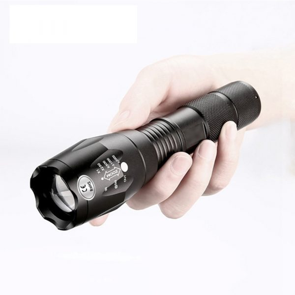 Waterproof Zoomable LED Ultra Bright Torch T6 Camping Light 5 Switch Fashion Bicycle Flash Light_1