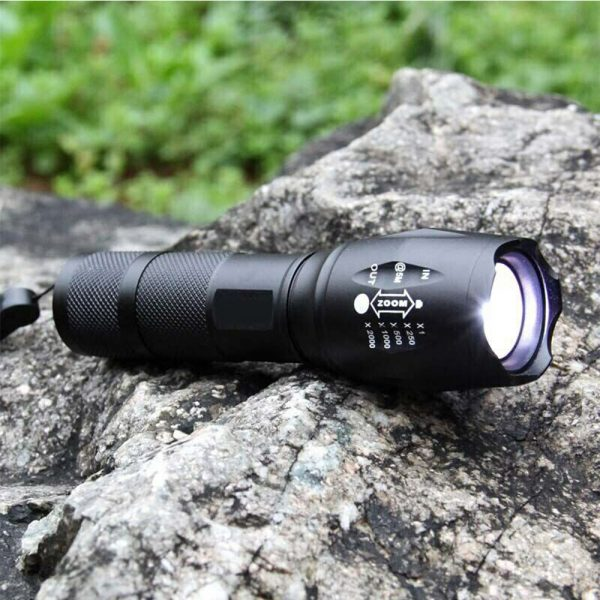 Waterproof Zoomable LED Ultra Bright Torch T6 Camping Light 5 Switch Fashion Bicycle Flash Light_2