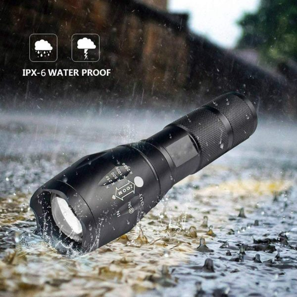 Waterproof Zoomable LED Ultra Bright Torch T6 Camping Light 5 Switch Fashion Bicycle Flash Light_7