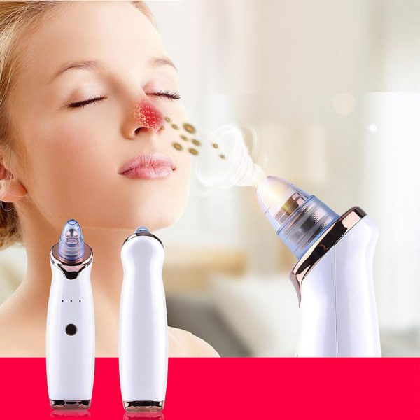 Acne Pimple Blackhead Remover Deep Cleaner for Face T Zone and Nose Vacuum Suction Machine Facial Beauty_1