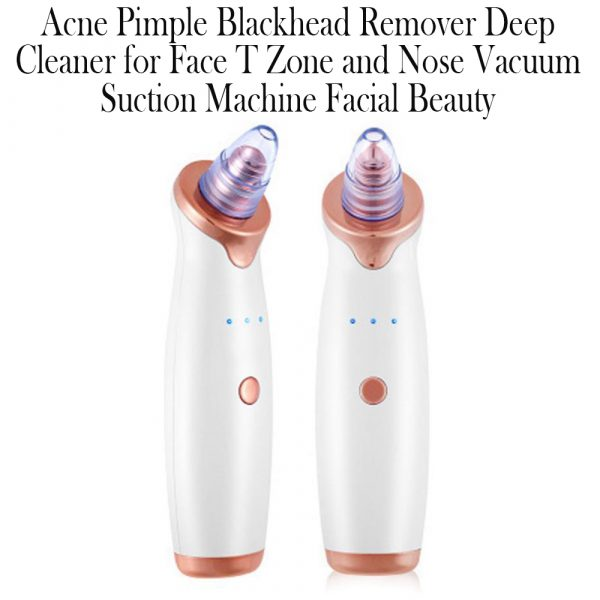 Acne Pimple Blackhead Remover Deep Cleaner for Face T Zone and Nose Vacuum Suction Machine Facial Beauty_15