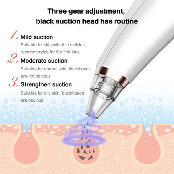 6 Nozzle Electric Acne Pimple Blackhead Remover Pore Deep Cleaner for Face and Nose Vacuum Suction Machine Facial Beauty_11