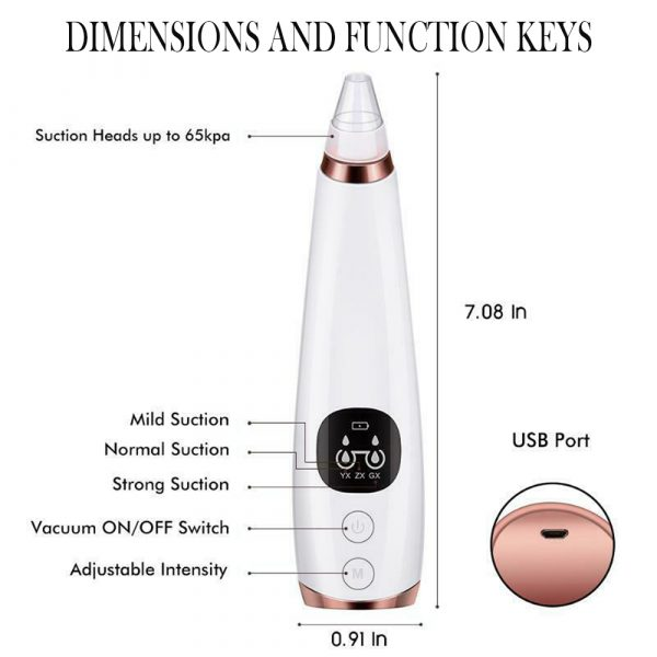 6 Nozzle Electric Acne Pimple Blackhead Remover Pore Deep Cleaner for Face and Nose Vacuum Suction Machine Facial Beauty_4