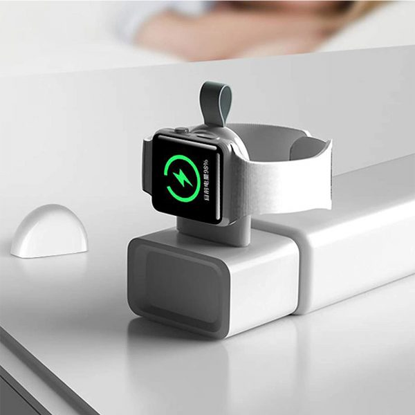 Portable Fast Charging Wireless Charger for iWatch 6 SE 5 4 USB Charging Dock Station for Apple Watch Series 5 4 3 2 1_3