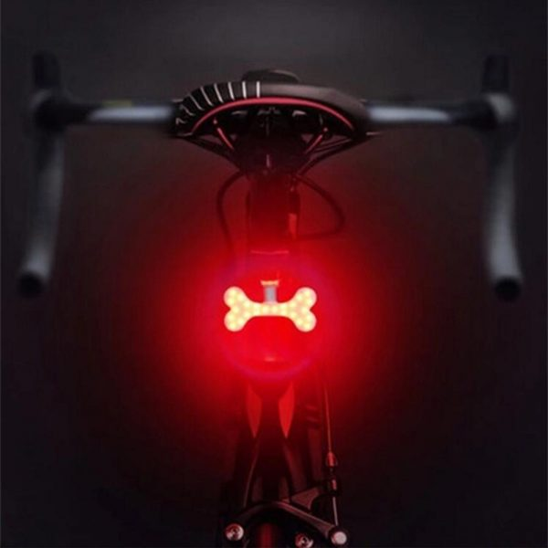 USB Charging LED Multiple Lighting Modes Bicycle Light Flashing Tail Light Rear Warning Bicycle Lights_13