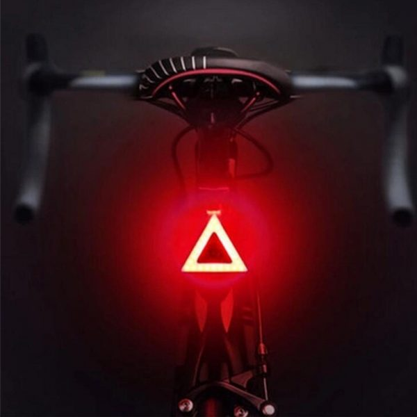 USB Charging LED Multiple Lighting Modes Bicycle Light Flashing Tail Light Rear Warning Bicycle Lights_1