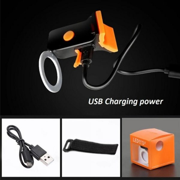 USB Charging LED Multiple Lighting Modes Bicycle Light Flashing Tail Light Rear Warning Bicycle Lights_2