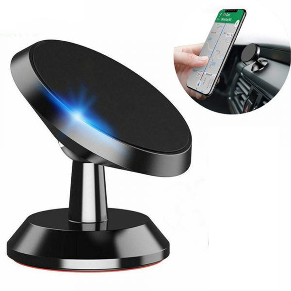 Universal Adhesive Dashboard Type Magnetic Mobile Phone Holder Cellphone Mount for 6.5 inch Phones_0