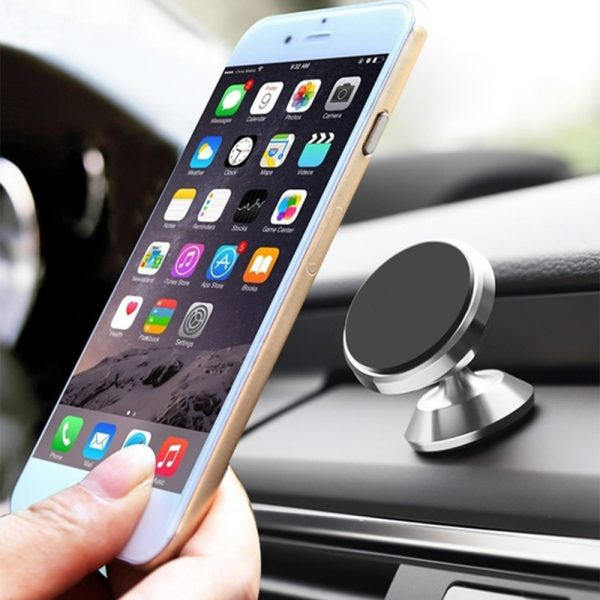 Universal Adhesive Dashboard Type Magnetic Mobile Phone Holder Cellphone Mount for 6.5 inch Phones_2