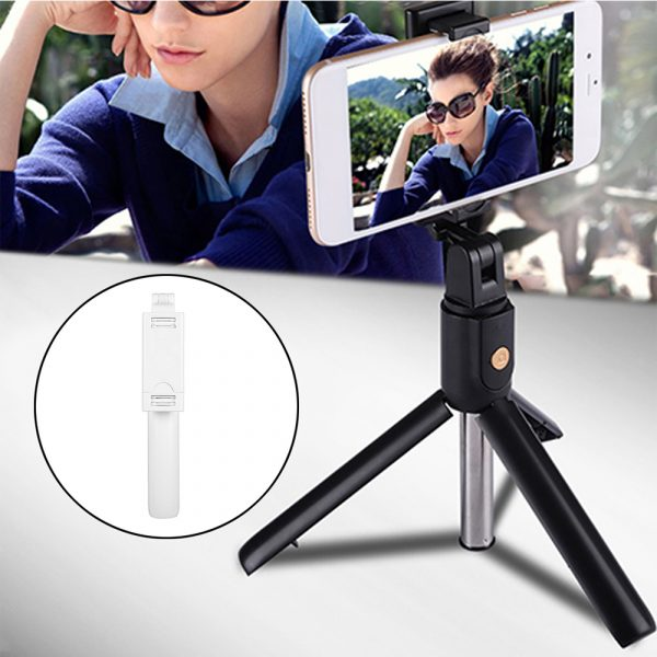 3 In 1 Wireless Bluetooth Selfie Stick Foldable Mini Tripod Expandable Monopod with Remote Control For iPhone iOS Android_3