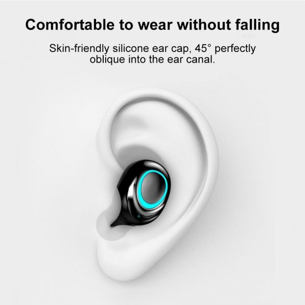 Wireless Waterproof Bluetooth 5.0 Earphones with 3500mAh Charging Box and Mic Sports Earbuds Headsets_1