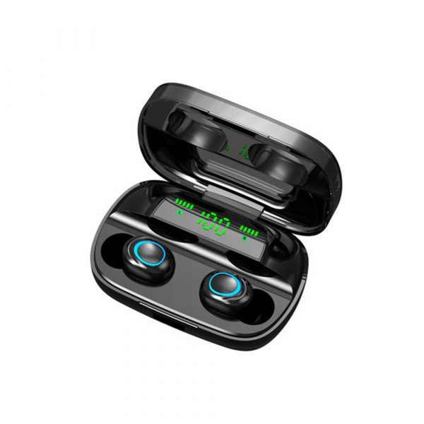 Wireless Waterproof Bluetooth 5.0 Earphones with 3500mAh Charging Box and Mic Sports Earbuds Headsets_0