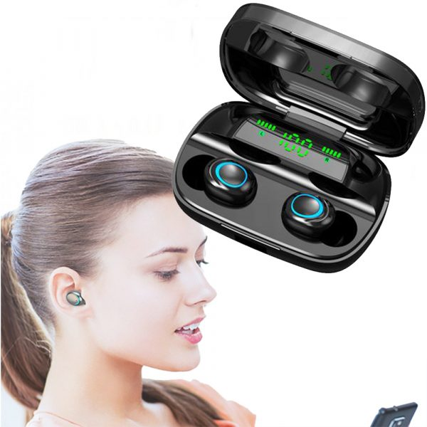 Wireless Waterproof Bluetooth 5.0 Earphones with 3500mAh Charging Box and Mic Sports Earbuds Headsets_6
