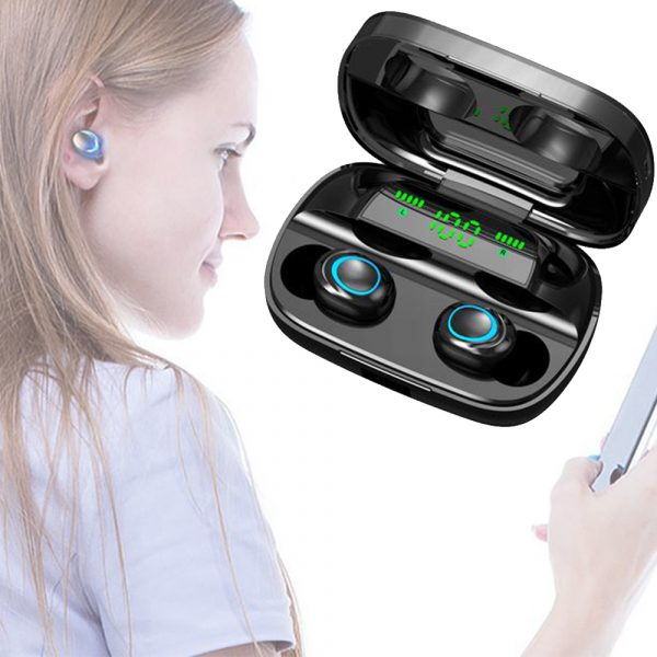 Wireless Waterproof Bluetooth 5.0 Earphones with 3500mAh Charging Box and Mic Sports Earbuds Headsets_7