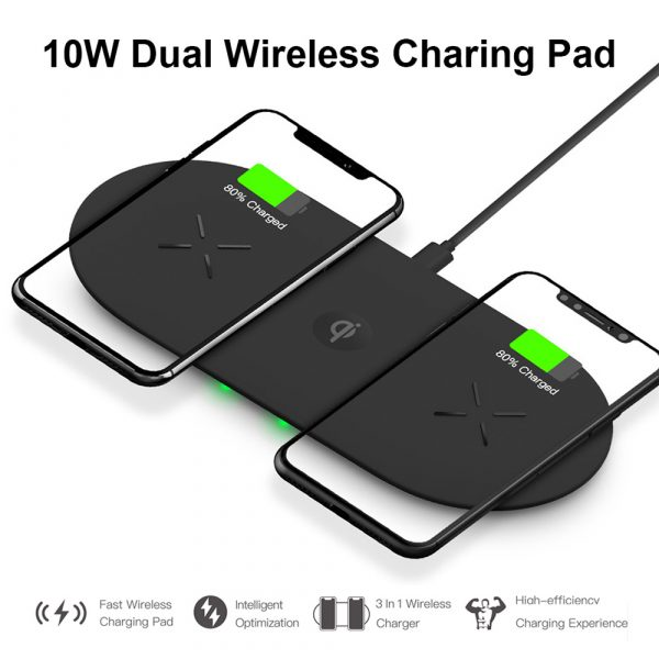 18W 3-in-1 Fast Charging Wireless QI Charger Pad for Apple, Samsung, Apple Watch and AirPods_10