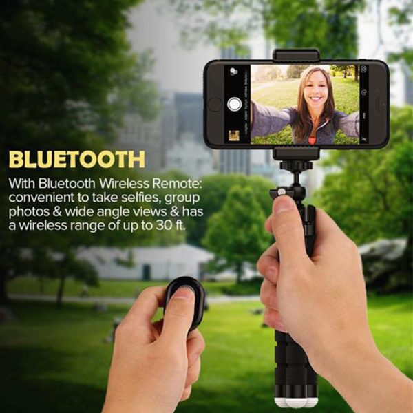 Remote Control Flexible Mobile Phone Holder Tripod Octopus Bracket for Cell Phone and Camera Selfie Stand_5