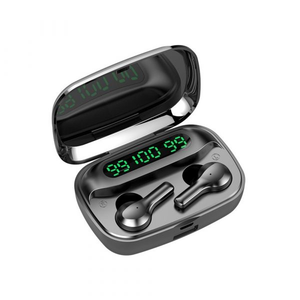R3 TWS Wireless Earphone Bluetooth V5.0 for Music and Phone Call Headset with Charging Case_0