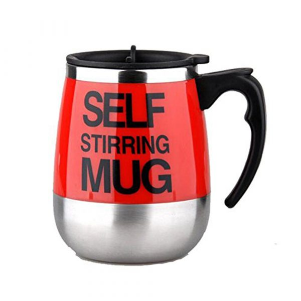 Hot and Cold Battery Operated Magnetic Stainless Steel Self Stirring Mug for Coffee, Tea and Juice_14