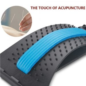 Back Stretcher and Massager Spine Relaxer for Lumbar Support