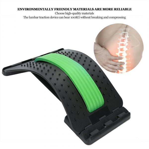 Back Stretcher and Massager Spine Relaxer for Lumbar Support_6