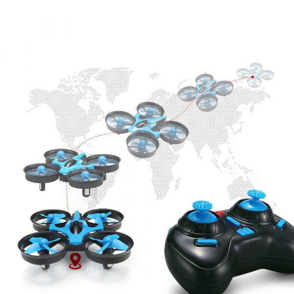 Mini Fall Resistant Flying Saucer 2.4G Remote Control Auto Hovering Six-Axis Small Mode Drone for Kids_9