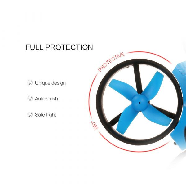 Mini Fall Resistant Flying Saucer 2.4G Remote Control Auto Hovering Six-Axis Small Mode Drone for Kids_14
