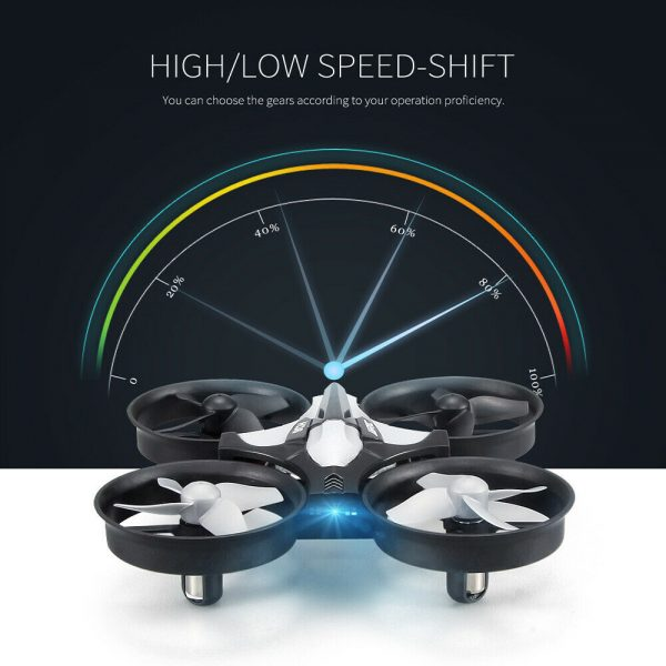 Mini Fall Resistant Flying Saucer 2.4G Remote Control Auto Hovering Six-Axis Small Mode Drone for Kids_7