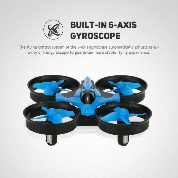 Mini Fall Resistant Flying Saucer 2.4G Remote Control Auto Hovering Six-Axis Small Mode Drone for Kids_15