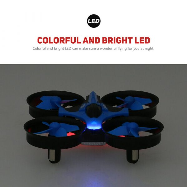 Mini Fall Resistant Flying Saucer 2.4G Remote Control Auto Hovering Six-Axis Small Mode Drone for Kids_16