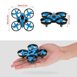 Mini Fall Resistant Flying Saucer 2.4G Remote Control Auto Hovering Six-Axis Small Mode Drone for Kids