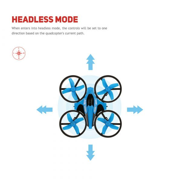 Mini Fall Resistant Flying Saucer 2.4G Remote Control Auto Hovering Six-Axis Small Mode Drone for Kids_5