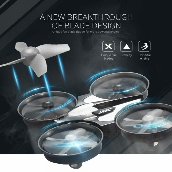 Mini Fall Resistant Flying Saucer 2.4G Remote Control Auto Hovering Six-Axis Small Mode Drone for Kids_6