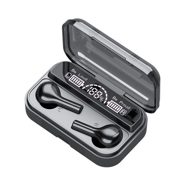 Wireless LCD Display TWS5.0 In-ear Bluetooth Headset for Music and Calls with Charging Case_10