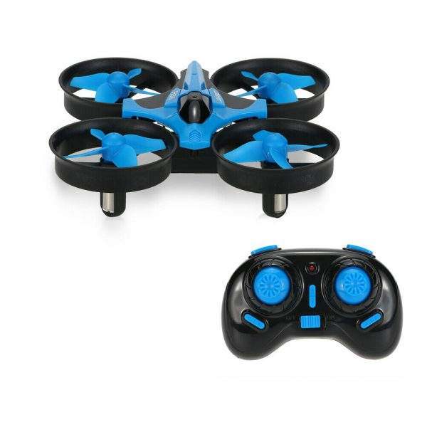Mini Fall Resistant Flying Saucer 2.4G Remote Control Auto Hovering Six-Axis Small Mode Drone for Kids_0