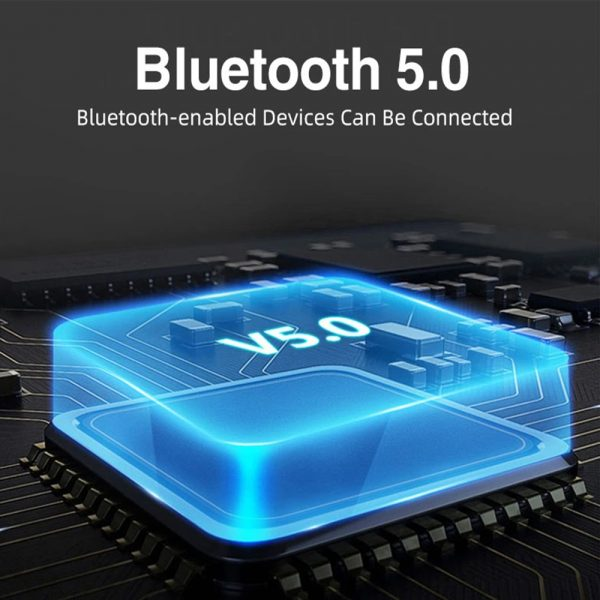 Mini 2 Wireless Bluetooth 5.0 Earphones Sport Earbuds Headset with Mic and Charging Box for All Smartphones_2