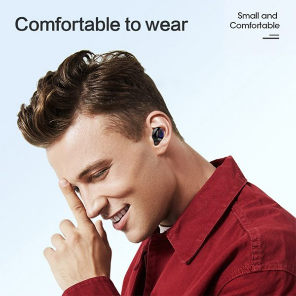 V8 Wireless Earphones Bluetooth 5.0 8D Bass Stereo Waterproof Earbuds Hands-free Headset with Microphone and Charging Case_10