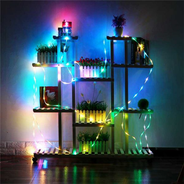 Remote Controlled 8- Function USB Interface PVC Tube String Lights in White, Warm Yellow and Multi-Color_4