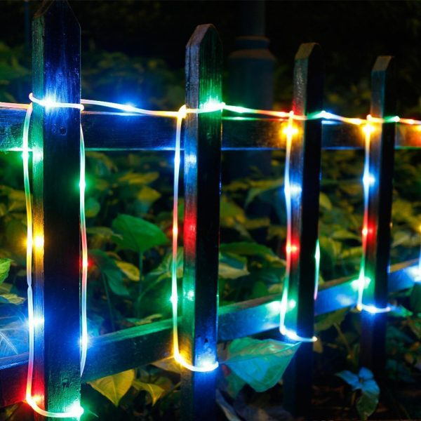 Remote Controlled 8- Function USB Interface PVC Tube String Lights in White, Warm Yellow and Multi-Color_11