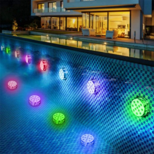 10/13 Lights Remote Controlled LED Diving Light with Magnetic Suction Cup for Fish Tank and Swimming Pool_9