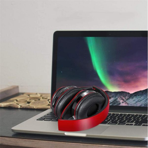Wireless Bluetooth Rechargeable LED Sports and Gaming Headset_14