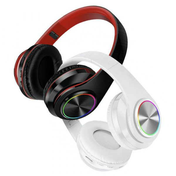 Wireless Bluetooth Rechargeable LED Sports and Gaming Headset_12