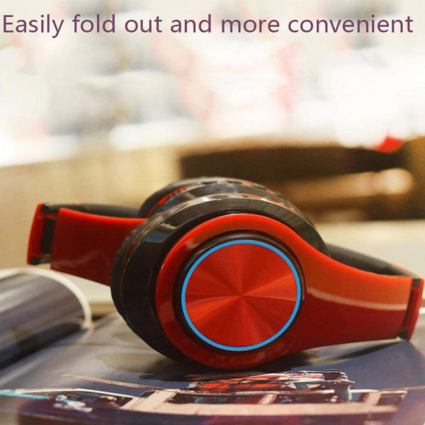Wireless Bluetooth Rechargeable LED Sports and Gaming Headset_3