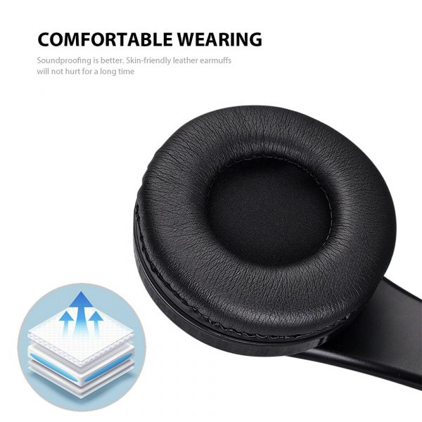 Wireless Bluetooth Rechargeable LED Sports and Gaming Headset_8