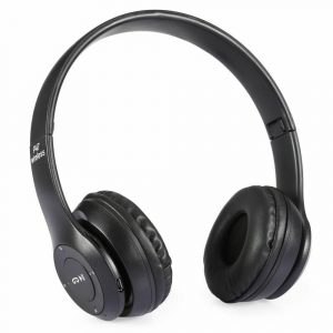 P47 Bluetooth Folding Stereo Headset for Music, Gaming and Exercising
