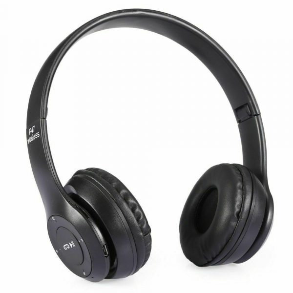 P47 Bluetooth Folding Stereo Headset for Music, Gaming and Exercising_0