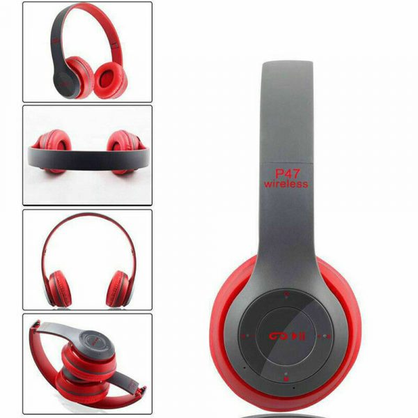 P47 Bluetooth Folding Stereo Headset for Music, Gaming and Exercising_17